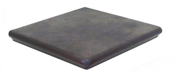 Ступень угловая Interbau Nature Art 118 Lava Schwarz 320x320x9,5 мм