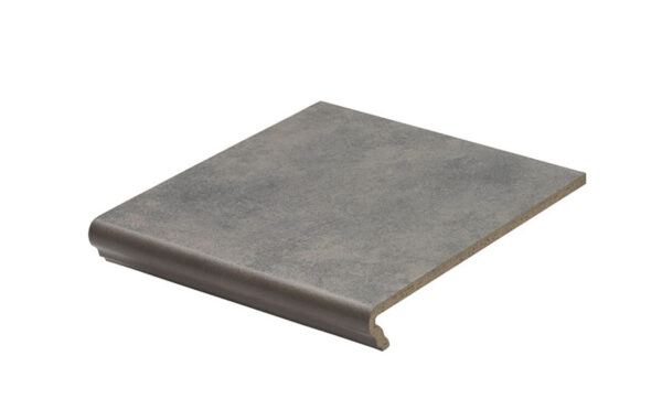 Клинкерная ступень флорентинер Stroeher Euramic Cavar E543 fosco 340x294x11 мм