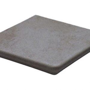 Клинкерная ступень угловая флорентинер Stroeher Euramic Cavar E543 fosco, 345x345x12 мм