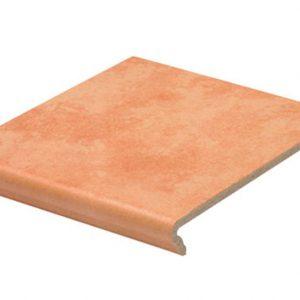 Клинкерная ступень флорентинер Stroeher Euramic Cavar E542 passione 340x294x11 мм