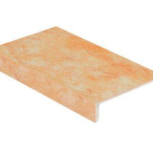 Клинкерная ступень Stroeher Euramic Cavar E541 facello 294х115х52х8 мм