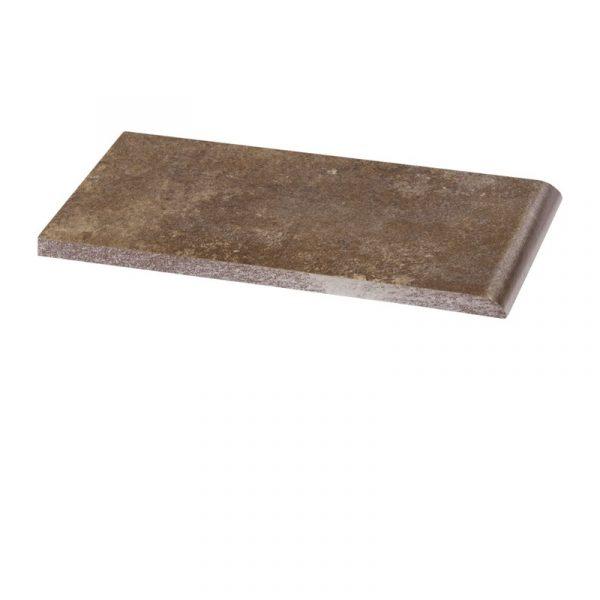 Клинкерный подоконник Paradyz Ilario Brown, 200*100*11 мм
