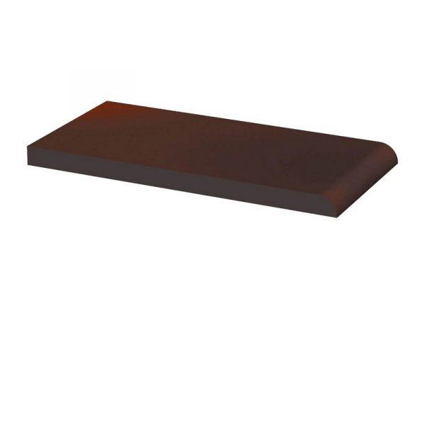 Клинкерный подоконник Paradyz Cloud Brown, 200*100*11 мм