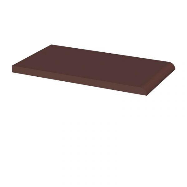 Клинкерный подоконник Paradyz Natural Brown, 245*135*11 мм