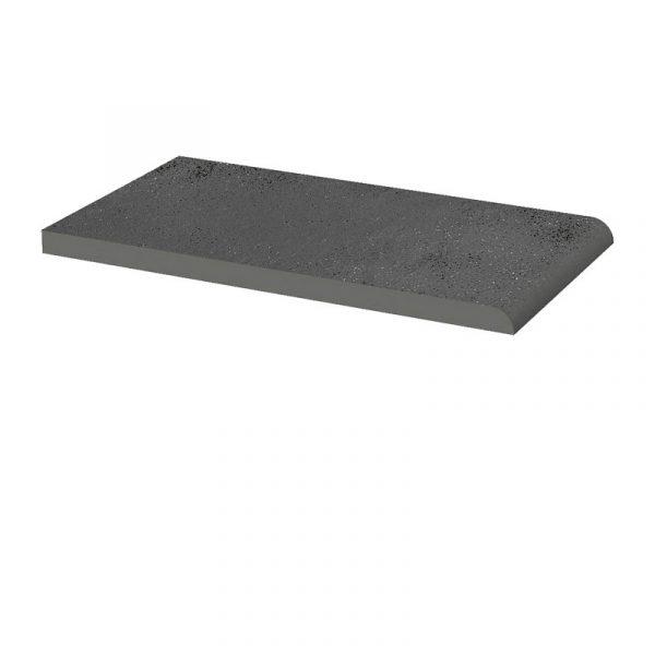 Клинкерный подоконник Paradyz Semir Grafit, 245*135*11 мм