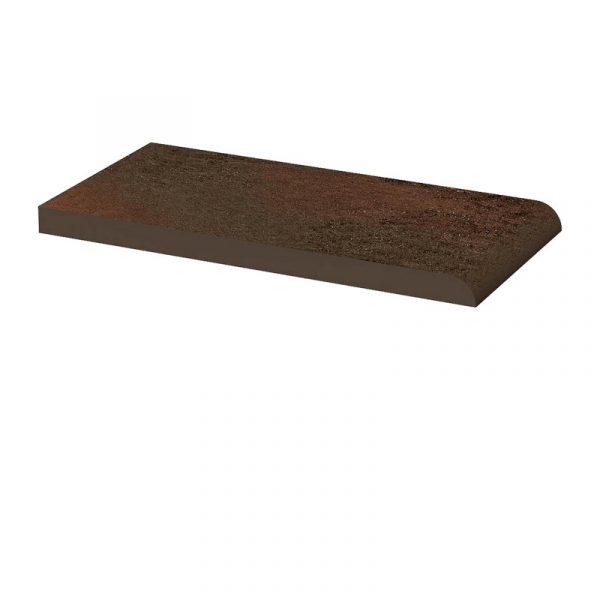 Клинкерный подоконник Paradyz Semir Brown, 200*100*11 мм