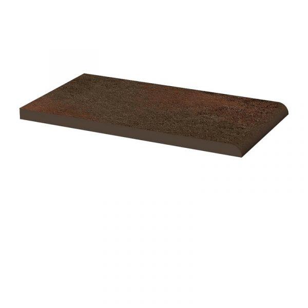 Клинкерный подоконник Paradyz Semir Brown, 245*135*11 мм