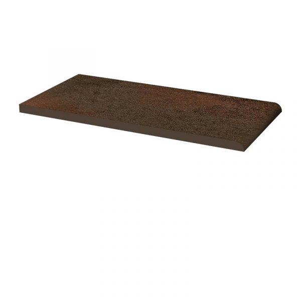 Клинкерный подоконник Paradyz Semir Brown, 300*148*11 мм