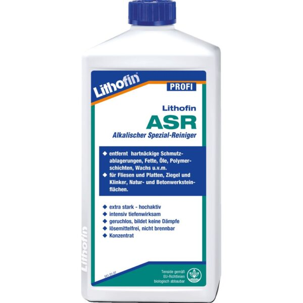 Lithofin ASR специальный щелочной очиститель